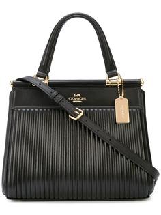 Coach стеганая сумка Grace
