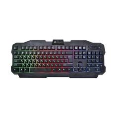 Клавиатура Oklick 757G черный USB for gamer LED
