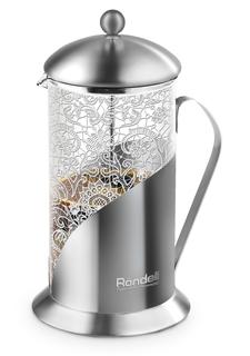 Заварочные чайники и френч-прессы Френч-пресс Rondell Ajour 800 мл
