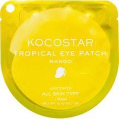 Уход за кожей лица Патчи для глаз KOCOSTAR Tropical Eye Patch Тропические фрукты Манго 1 пара