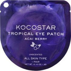 Уход за кожей лица Патчи для глаз KOCOSTAR Tropical Eye Patch Ягоды Асаи 1 пара