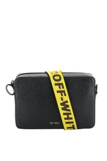 Черная поясная сумка Off White