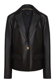 Кожаная куртка-пиджак Escada