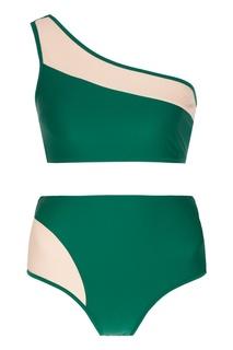 Бежево-зеленое бикини Vela Bodypoetry