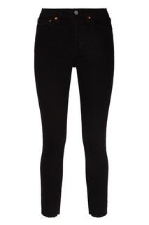 Черные джинсы-скинни Re/Done