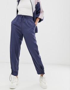 Спортивные штаны от комплекта с фиксаторами Native Youth - Темно-синий