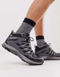 Черные походные ботинки Columbia - Wayfinder MID Outdry - Черный