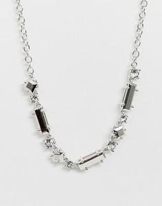 Ожерелье с отделкой Ted Baker - Startlet - Серебряный
