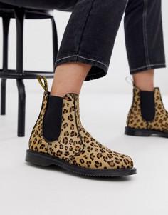 Ботинки челси с леопардовым принтом Dr Martens Flora - Мульти