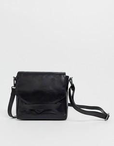 Кожаный рюкзак Urbancode - Черный