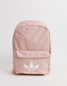 Розовый рюкзак с логотипом adidas Originals - Розовый