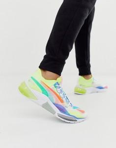 Разноцветные кроссовки Puma LQDCELL Optic - Мульти