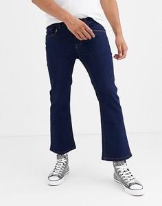 Темно-синие расклешенные джинсы скинни Heart & Dagger - Темно-синий