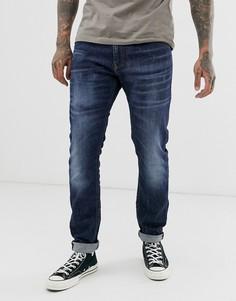 Эластичные узкие джинсы Diesel Thommer - Синий
