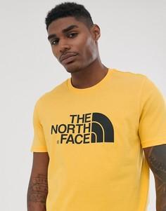 Желтая футболка The North Face Easy - Желтый