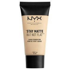 NYX Professional Makeup Матирующая тональная основа. STAY MATTE BUT NOT FLAT LIQUID FOUNDATION