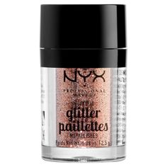 NYX Professional Makeup Глиттер для лица и тела. METALLIC GLITTER