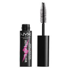 NYX Professional Makeup Тушь для невероятного объема ресниц. Тревел-формат. WORTH THE HYPE VOLUMIZING & LENGTHENING MASCARA MINI