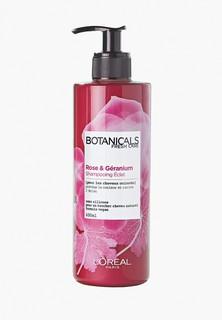"""Шампунь LOreal Paris LOreal """"Botanicals Герань"""", для окрашенных и тусклых волос, придает блеск, 400 мл, без парабенов, силиконов и красителей"""