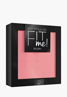Румяна Maybelline New York FitMe Blush, легкая текстура, оттенок 25, Розовый, 4.5 гр