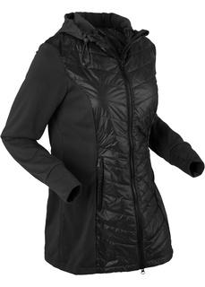 Все куртки Куртка легкая стеганая с флисовой вставкой Bonprix