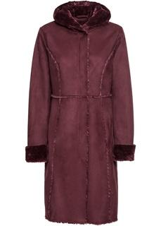 Пальто Куртка из искусственного меха Bonprix