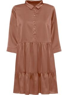 Короткие платья Платье-рубашка Bonprix