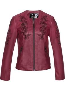 Все куртки Куртка из искусственной кожи с аппликациями Bonprix