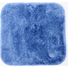 Коврик для ванной Wasserkraft Wern Dark blue, полиамид и волокно Antron, 55х57 см, BM-2504