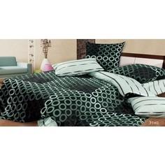 Комплект постельного белья Ecotex Евро, поплин, Этно (4650074953199)