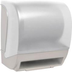Диспенсер для бумажных полотенец Nofer Roll 1 рулон / 210 мм диаметр, белый (04004.2.W)