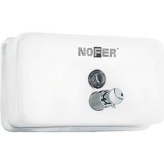 Диспенсер для мыла Nofer Inox 1,2 литра, белый (03002.W)
