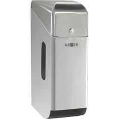 Диспенсер для туалетной бумаги Nofer Three rolls для 3 рулонов, с крышкой, хром/матовый (05100.S)