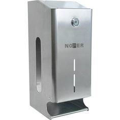 Диспенсер для туалетной бумаги Nofer Two rolls для 2 рулонов, хром/глянцевый (05101.B)