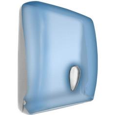 Диспенсер для бумажных полотенец Nofer 600 листов, синий (04020.T)