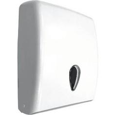 Диспенсер для бумажных полотенец Nofer Tissue 600 листов, белый (04020.W)