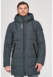 Удлиненная куртка с отделкой трикотажем Urban Fashion for men