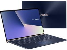 Ноутбук ASUS Zenbook UX333FN-A3052R Royal Blue 90NB0JW1-M02180 (Intel Core i7-8565U 1.8GHz/8192Mb/512Gb SSD/No ODD/nVidia GeForce MX150 2048Mb/Wi-Fi/Bluetooth/Cam/13.3/1920x1080/Windows 10 64-bit)