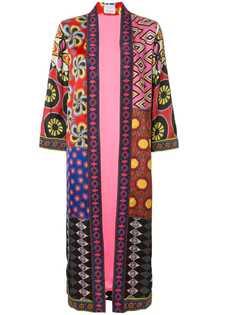 Alice+Olivia длинное кимоно Lynn с принтом