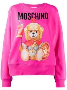 Moschino толстовка оверсайз Teddy Bear