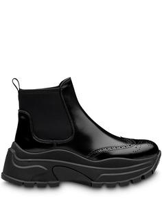 Prada ботинки на платформе