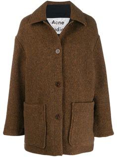 Acne Studios пальто-кокон