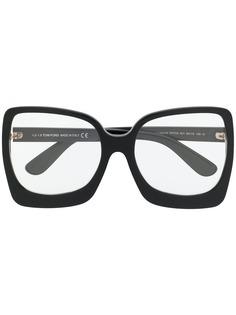 Tom Ford Eyewear очки в массивной квадратной оправе