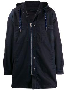 Diesel куртка на молнии с капюшоном