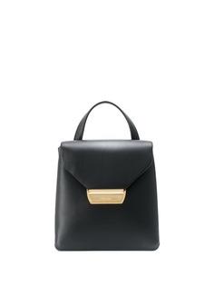 Prada мини-рюкзак с металлическим логотипом