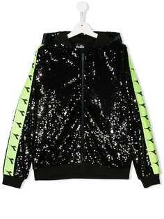 Diadora Junior куртка с пайетками