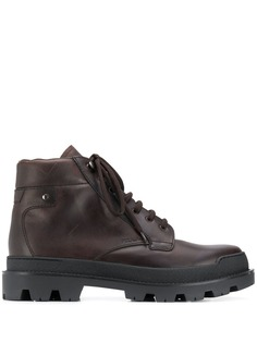 Prada ботинки на шнуровке