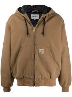 Carhartt WIP куртка на молнии с капюшоном