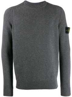 Stone Island свитер в рубчик