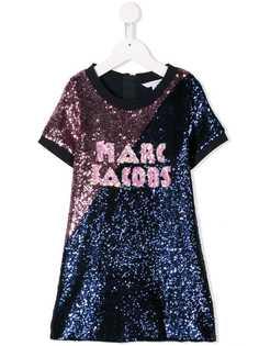 Little Marc Jacobs платье с вышивкой пайетками